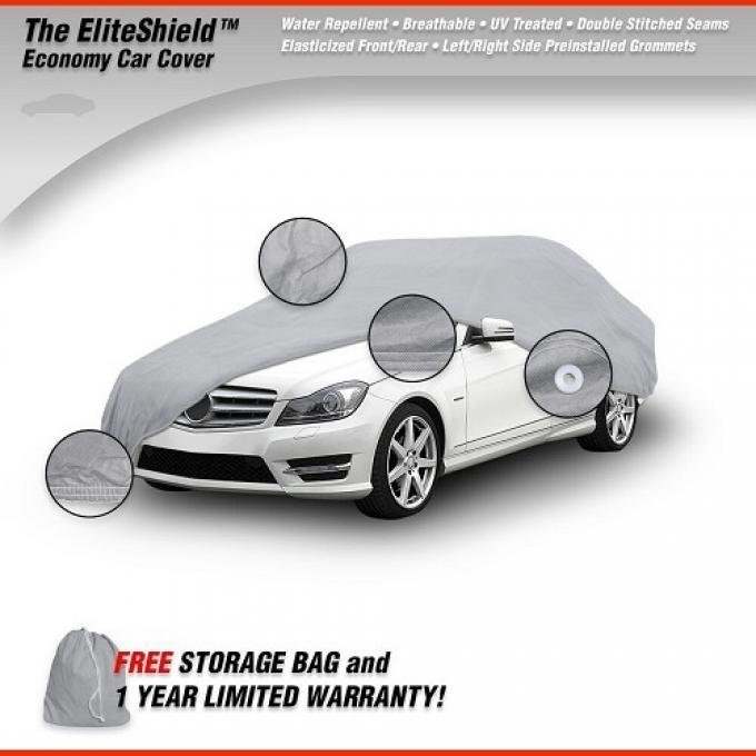 CHEVROLET FULL SIZE CHEVY EliteShield Car Cover, Gray, 1958-1985