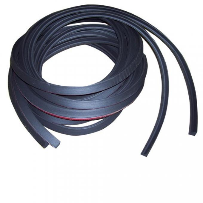 Chevy Truck Door Weatherstrip, Premium Seal with Adhesive Backing, 1947-1955