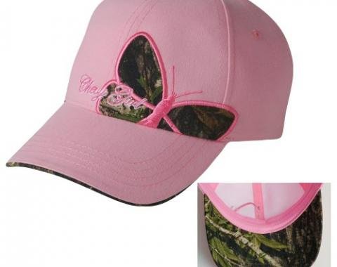 Chevy Girl Ladies Butterfly Camo Cap