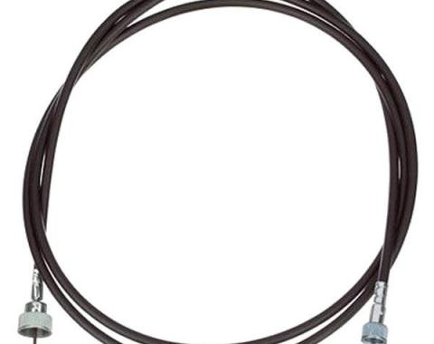 "Chevy Truck Speedometer Cable, Screw-in Type, 100"", 1967-1972"