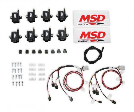 MSD Smart Coil Big Wire Kit 82893-KIT