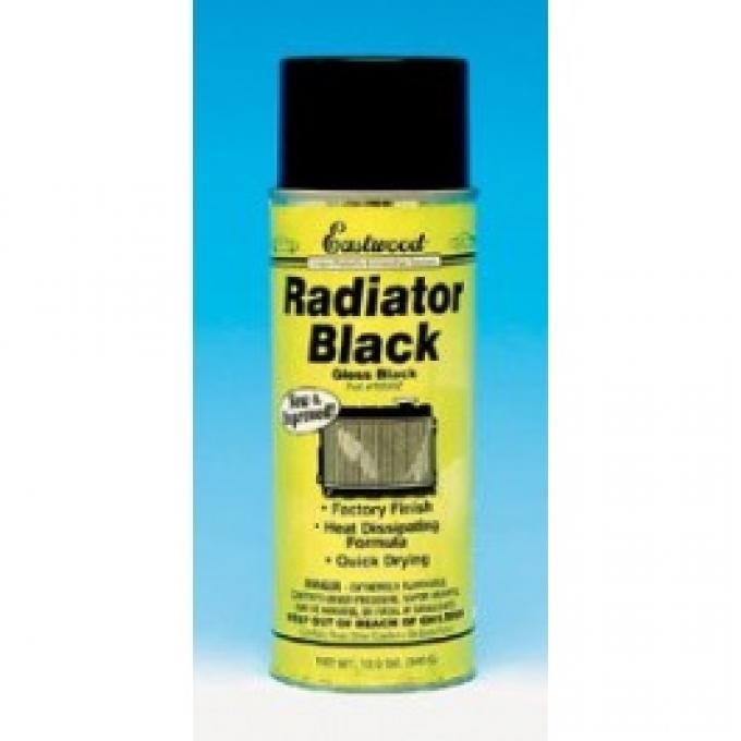 Corvette Radiator Black Spray