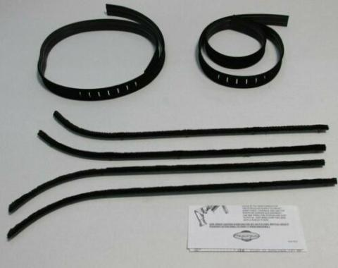 Chevy Van Authentic Feltkit, 6 Piece, 1964-1970