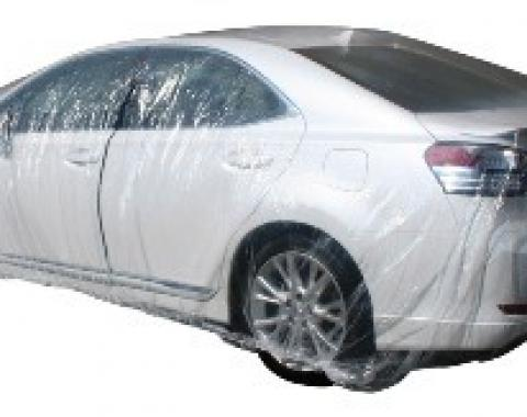 Car Cover, Disposable Clear, Small