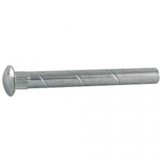 Door Hinge Pin - Plain Steel - Extended Length For Use With Hinge Pin Mirrors - Ford Passenger Except 32 Roadster & Phaeton