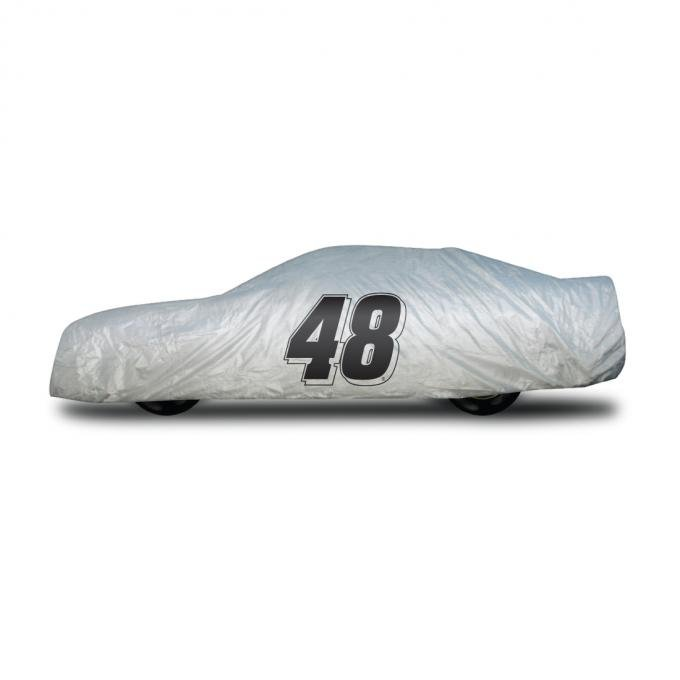 Elite Premium™ 1997-2013 Corvette Jimmie Johnson Car Cover, Gray
