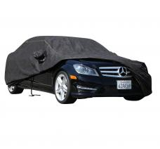 FORD EXPLORER Waterproof Max Series Car Cover, Black with Mirror Pockets, 1991-2005