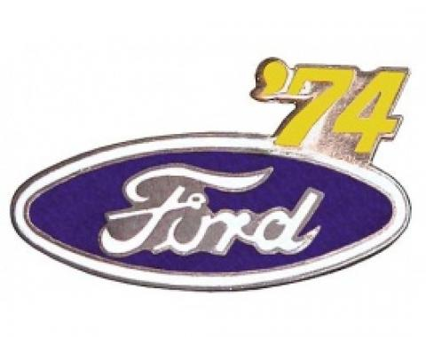 Hat Pin, Ford Oval With '74