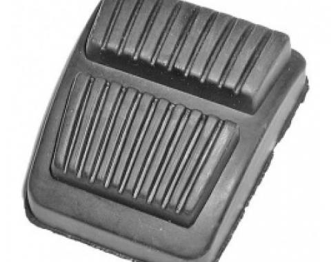 Ford Thunderbird Emergency Brake Pedal Pad, Rubber, 1965-66