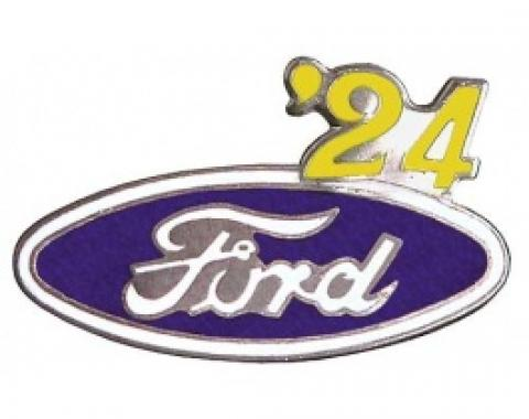 Hat Pin, Ford Oval With '24