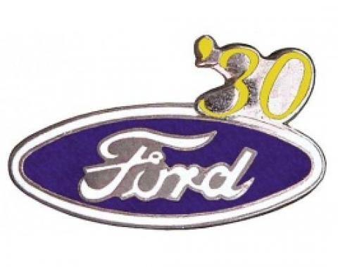 Hat Pin, Ford Oval With '30