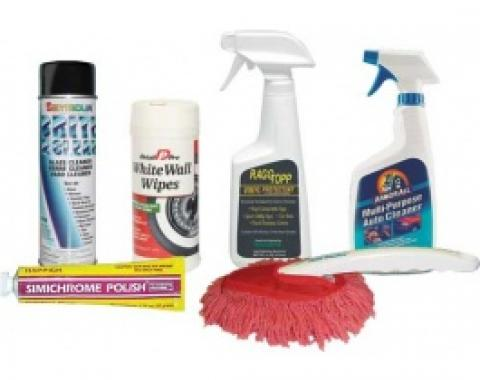 Standard Upholstery Cleaning and Car Care Kit, 6 Pieces