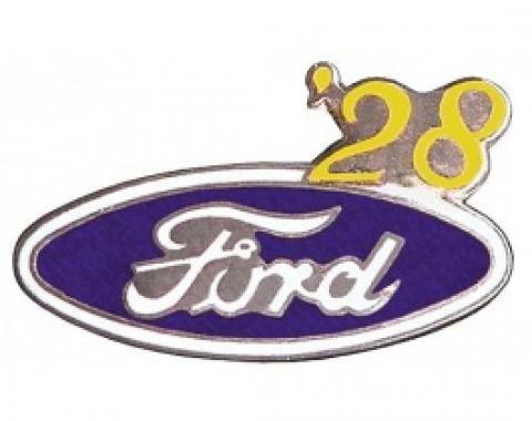 Hat Pin, Ford Oval With '28