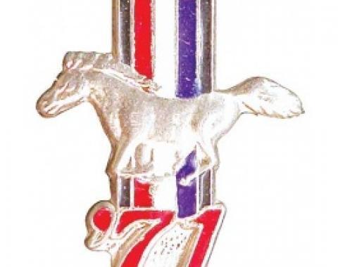 Hat Pin, 1971 Mustang