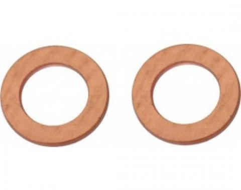Ford Thunderbird Brake Line Connector Copper Gasket, 1955-66
