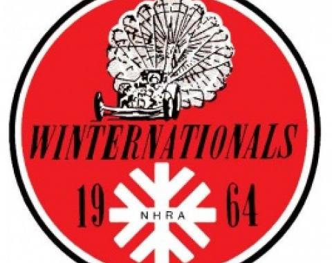 Decal, Winternationals NHRA 1964