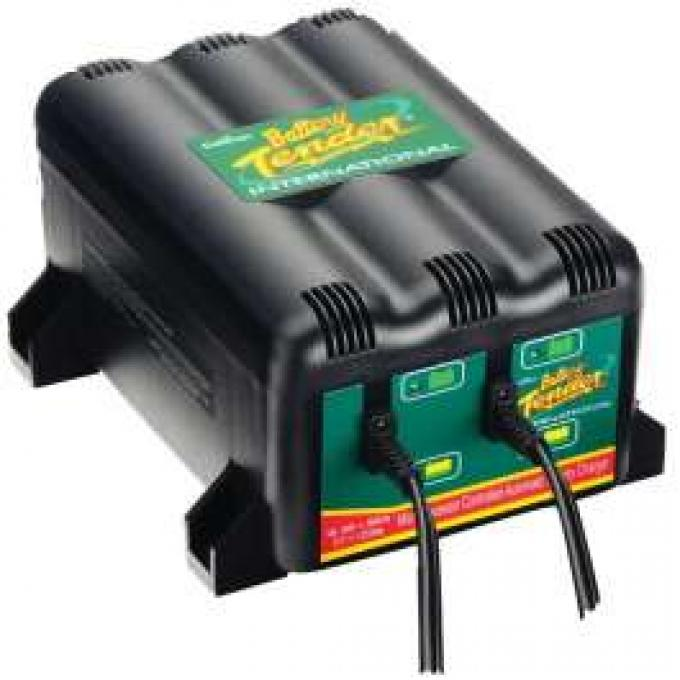 Corvette Battery Tender 2 Bank Charger 12 Volt