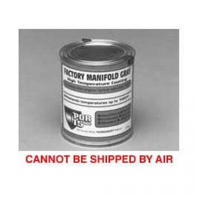 Exhaust Manifold Paint, Pint, POR-15