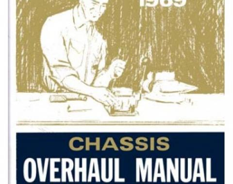 Chevrolet Chassis Overhaul Manual, 1969