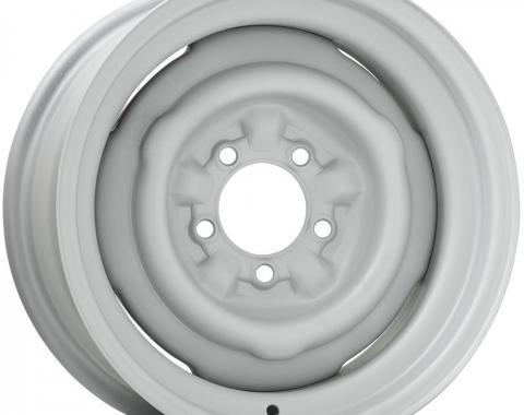 Stock Steelie COPO Style Dog Dish Wheel, 14 x 7