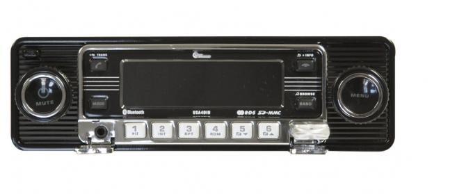 Custom AutoSound® 4-Din Radios   Black Face