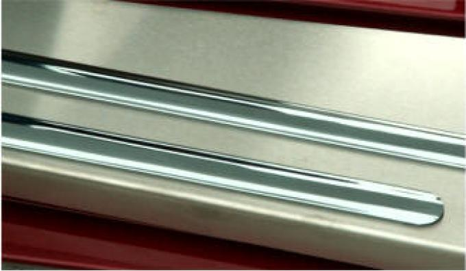 American Car Craft Doorsills Inner Satin 2pc 031015