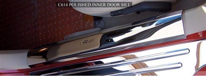 American Car Craft Doorsills Polished Inner 041025