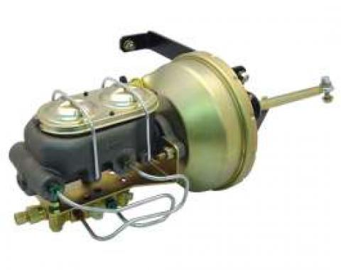 Chevy Truck Master Cylinder & Booster Kit, Front & Rear Disc Brakes, 1947-1955 (1st Series)