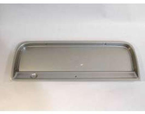 Chevy Truck Instrument Cluster, Brushed Aluminum, Without Gauges, 1964-1966