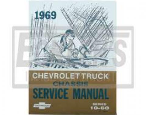 Chevy Truck Shop Manual, 1969