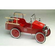 Pedal Car, 1938 Fire Chevy Truck, Red, 1938