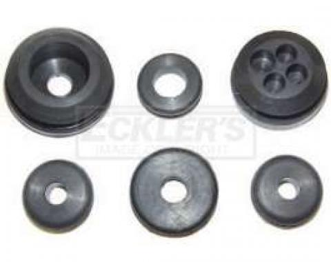 Chevy Or GMC Truck Firewall Grommet Kit, 1st Design 1950-1955