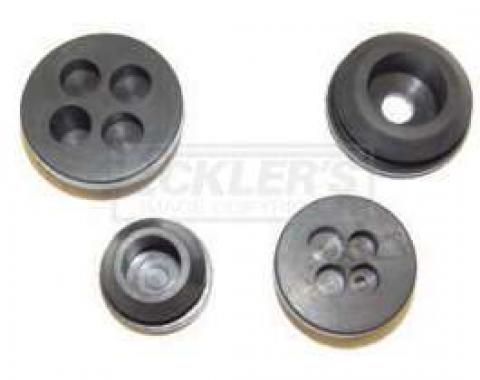 Chevy Or GMC Truck Firewall Grommet Kit, 2nd Design 1955-1959