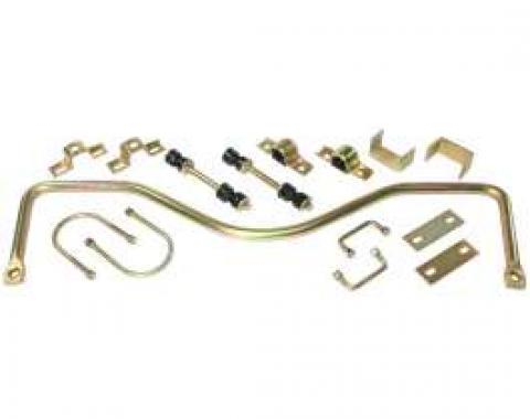 Chevy Truck Rear Anti-Sway Bar Kit, With Leaf Springs, 1960-1972