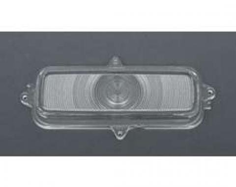 Chevy Truck Parking, Turn Signal Light Lens, Clear, 1960-1966