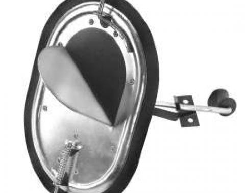 Chevy Truck Kick Panel Vent, Right, 1967-1972
