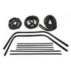 Chevy Truck Custom Weatherstrip Kit, Without Chrome, 1967-1972