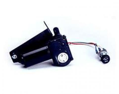 Chevy & GMC Truck Electric Wiper Motor, Replacement, With Delay Switch, 1955 (2nd Series)-1957