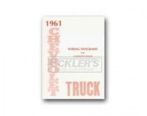 Chevy Truck Wiring Diagram, 1961