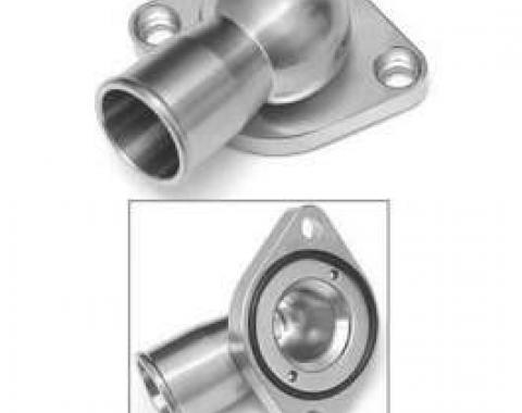 Chevy Truck Thermostat Housing, Polished, Stainless Steel, Small Block & Big Block, 1967-1972