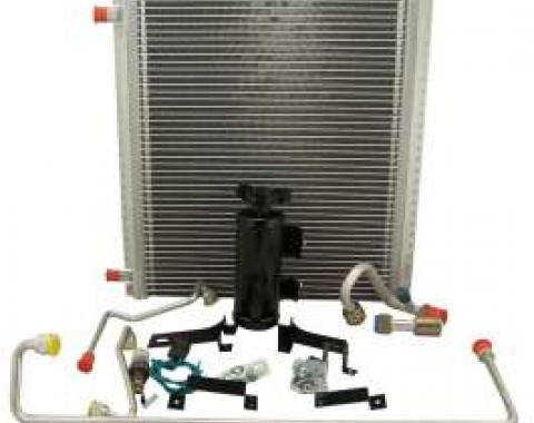 Chevy Truck Air Conditioning Condenser Kit, For Driver's Side Mounted Compressor, 1947-1955