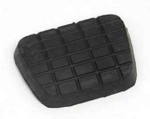 Chevy Truck Brake Or Clutch Pedal Pad, Square Pattern, 1960-1972