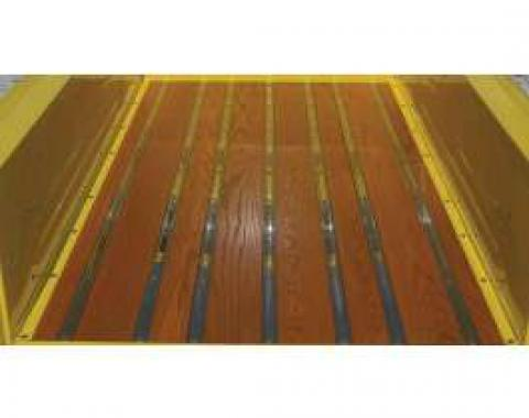 Chevy Truck Bed Strips, Stainless Steel, Polished, Long Bed, Fleet Side, 1963-1966