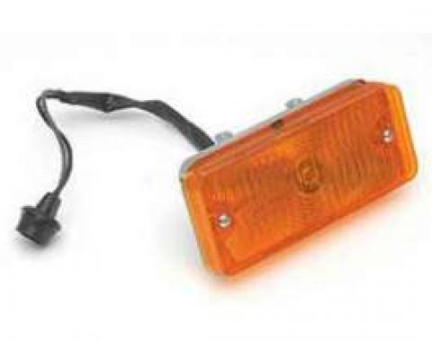 Chevy Truck Parking & Turn Signal Light Assembly, Amber, Left, 1967-1968