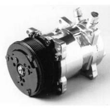 Chevy Truck Air Conditioning Compressor, Chrome, Sanden 508/134A, 1947-1972