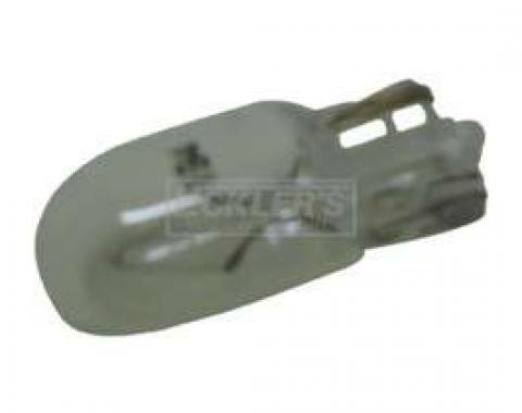 Chevy Truck Bulb, Side Marker Light, Clear, 1968-1987