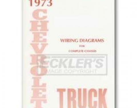 Chevy Truck Wiring Diagram, 1973