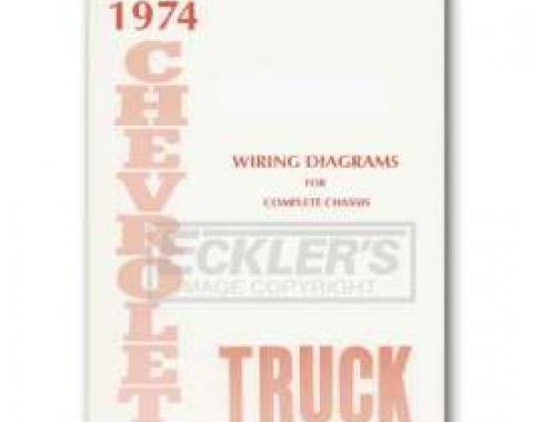 Chevy Truck Wiring Diagram, 1974