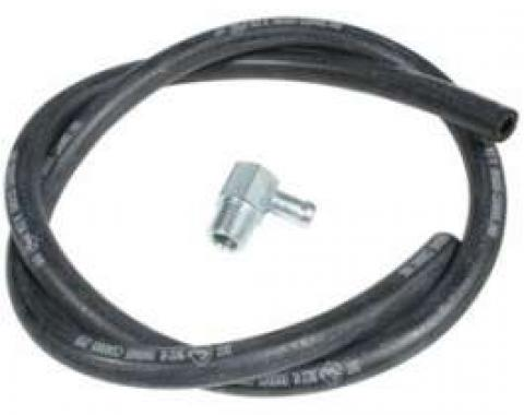 Chevy Truck Vacuum Hose Kit, Brake Booster, With 90? Fitting 1947-1954