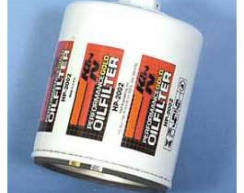 Chevy Oil Filter, K&N, Screw-On, 1968-1992